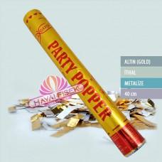 40 Cm Gold Konfeti
