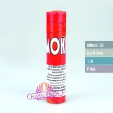 1 Dakika Kırmızı Sis Bombası