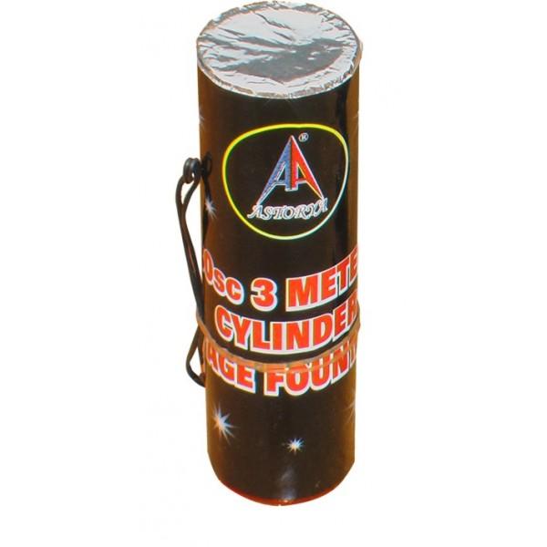 3 Metre 30 Saniye Elektronik Silindir Volkan
