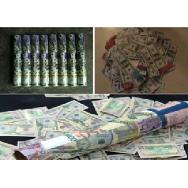 30 Cm Dolarlı Konfeti