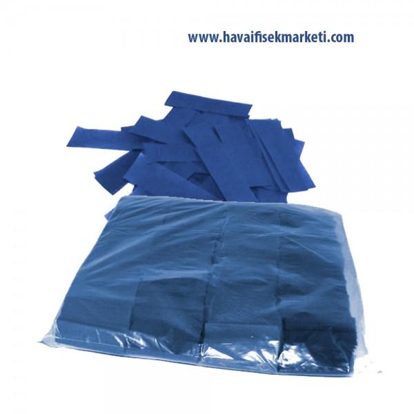 Mavi Renkli Konfeti Kağıdı