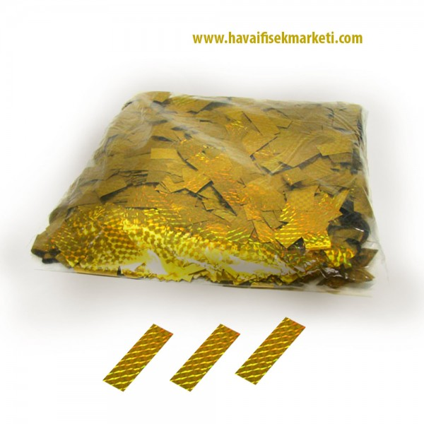 Gold  Metalize Konfeti Kağıdı
